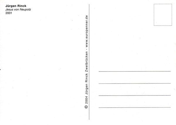 Postkartenrückseite mit Adressfeld
